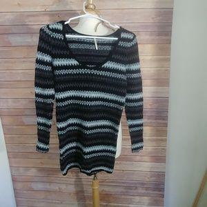 Free People long sleeve sweater dress s/p